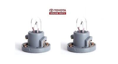 New OEM Pair Toyota 90010 09017 Cooler Control Switch Bulb