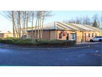 Light industrial/Workshops/Storage space for Rent in Pegswood/Morpeth (NE61)