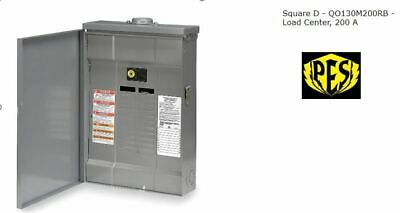 New - Square D Qo130m200rb 200a Main Breaker Od Load Center