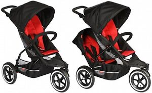 Phil & Teds **Double** stroller in NEW CONDITION