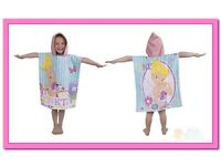 junior hooded poncho towel new and packaged