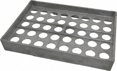 Made In Usa 40 Collet Er25 Plastic Collet Rack And Tray 8-14 Inch Wide X 1-...