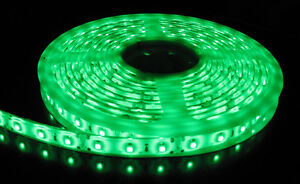5050 GREEN Flexible LED Strip 5M