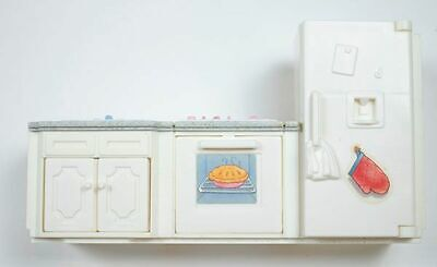 FISHER PRICE LOVING FAMILY GRAND DOLLHOUSE REPLACEMENT KITCHEN  #74618