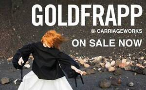 Goldfrapp at The Carriageworks; part of the Sydney Vivid Festival Hunterview Singleton Area Preview