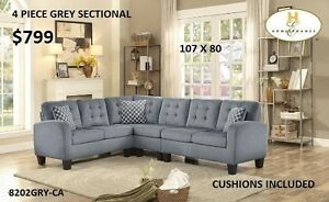 MIKE HAS LOTS OF SECTIONALS STARTING AT JUST $599!  CHECK IT OUT