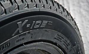 Michelin X-Ice Xi3 Winter Tires with Rims in Excellent Condition