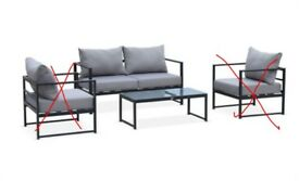 2-Seater Sofa and Coffee Table *BRAND NEW*