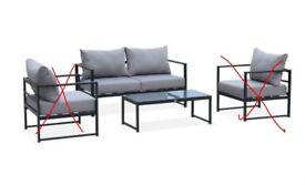 BALEA: 2-Seater Sofa and Coffee Table *BRAND NEW*