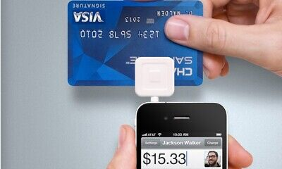Square Swipe Payment Credit Card Reader - Iphone Ipad Android - 1st Generation