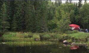 Creekside Camping near Kenora with Access to Laclu