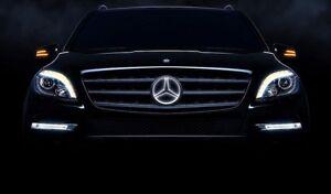 Mercedes benz illuminated led star gl x166 gl350 gl450 for Mercedes benz illuminated star