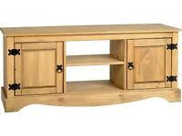 NEW Solid Corona Mexican Pine TV cabinets from £79 ALL IN STOCK, GET ONE TODAY