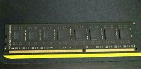 2 x 8GB Black Kingston DDR3 DIMM 1866Mhz LGA1150 RAM