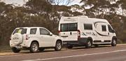 Campervan Winnebago Escape  towing a 4x4 Vitara car Monteith Murray Bridge Area Preview