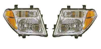NEW Pair Set Headlamp Headlight For Nissan Frontier truck pickup