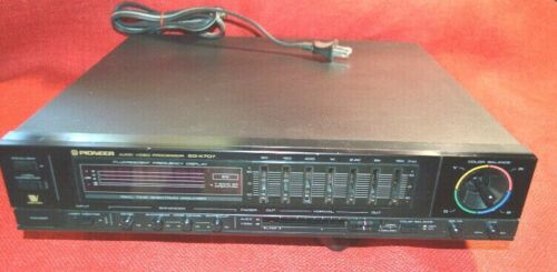 VINTAGE PIONEER AUDIO/VIDEO PROCESSOR EG-X707 (ORIGINAL-OWNER)  FREE SHIPPING.