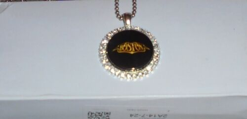 Boston Rock Band Feeling Mind Time Back Concert Chain Pendant Necklace Song MA