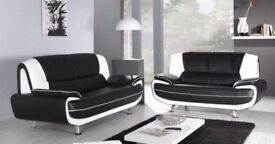★★ LIMITED TIME OFFER ★★ BRAND New ★★ CAROL 3 AND 2 SEATER SOFA in 3 DIFFERENT COLOURS