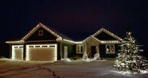 WE DO CHRISTMAS   LIGHTS INSTALLATION ON YOUR HOUSE!!