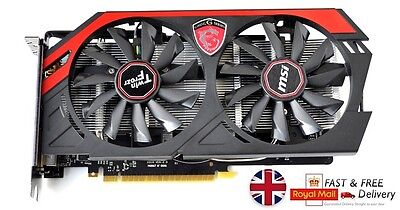 MSI NVIDIA GeForce GTX 750 Ti (2048 MB) (N750TITF2GD5OC) Graphics Card