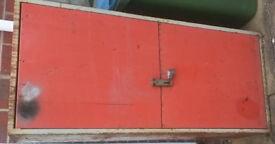 Workshop garage van metal storage unit security