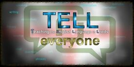 TEFL English Teacher Needed Leeds Areas, Own Transport Preferred but not essential, Paid Weekly