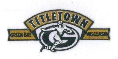Hottest Selling Patch  Titletown Green Bay Wisconsin All Quality Embriodery