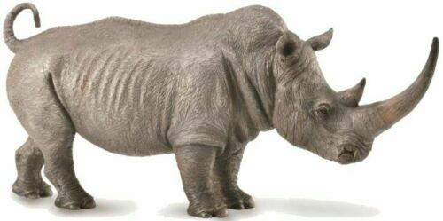 Breyer CollectA 88852  White Rhinoceros  well made <><