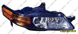 Head Lamp Passenger Side With HID Usa Type High Quality Acura TL 2006