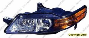 Head Lamp Driver Side With HID Canada Type High Quality Acura TL 2006