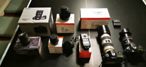 Canon Cameras and Lens for Sale