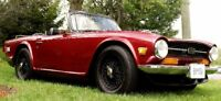 1971 Triumph TR6 Reduced  $16900