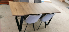✨Scandinavian style dining table and chairs✨