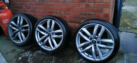 Set of Audi rs6 style alloys