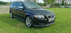 2008 VOLVO V50 SPORT R DESIGN 1.8 PETROL MOTED TO MAY 2022