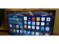 "48"" TOSHIBA SMART 4K ULTRA HD 3D TV CAN DELIVER"