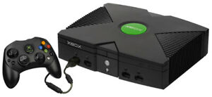 Original XBOX,great working with controller,bag,adapter & cables