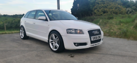 2008 AUDI A3 1.9 TDI E ONLY £30 A YEAR ROAD TAX POSS PART EXCHANGE