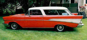 1957  Chevrolet Bel Air  Two-Door Station Wagon