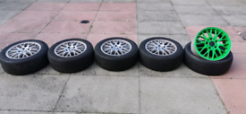 BMW Style 42 Alloy Wheels With TOYO CF2 Tyres