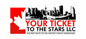 Amazing seats to SOLD OUT EVENTS coming to Edmonton!