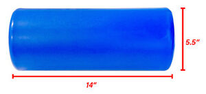 "Northern Lights Smooth 14"" Foam Roller - Blue ROSMOOTH145B Edmonton Edmonton Area image 3"