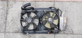Honda Civic EP3 Type R Radiator Complete