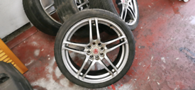 17inch alloys wheels 4x100/4x108 dare v2