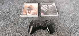 Sony Playstation 3 Controller & Games