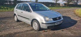 2002 VOLKSWAGEN POLO 1.2 PETROL MOTED TO MAY POSSIBLE PART EXCHANGE
