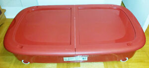 Large Underbed Storage Box with Wheels - $30 OBO