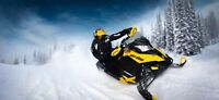 Wrecked, non-running & unwanted snowmobiles