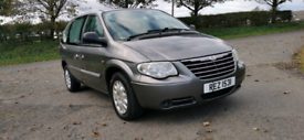 2007 CHRYSLER VOYAGER CRD SE DIESEL. 7 SEATER POSSIBLE PART EXCHANGE